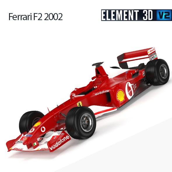 F1 Ferrari F2 2002
