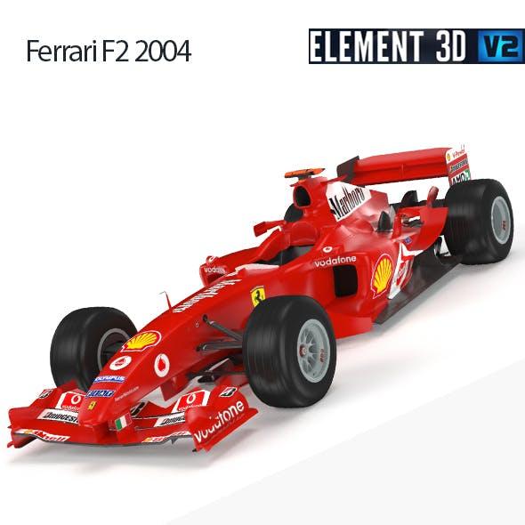 F1 Ferrari F2 2004