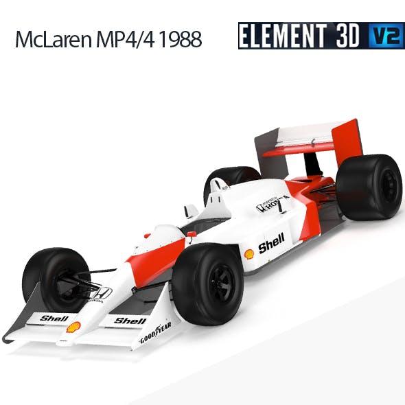 F1 Mclaren MP4-4 1988
