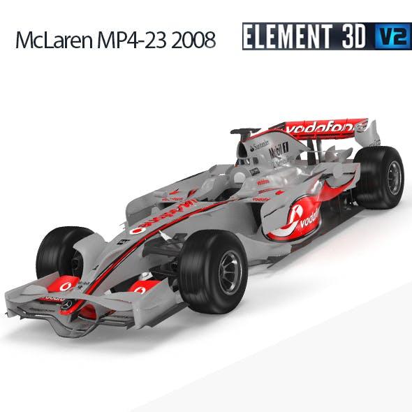 F1 Mclaren MP4-23 2008