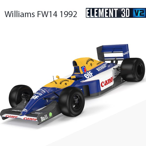 F1 Williams FW14 1992