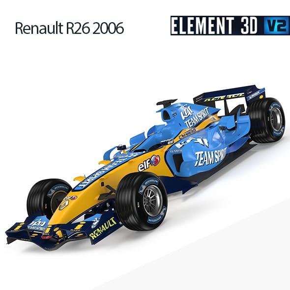 F1 Renault R26 2006