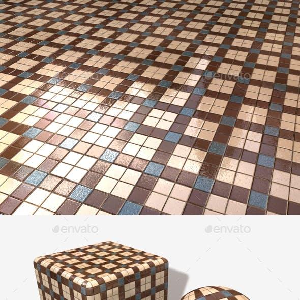 Small Bathroom Tiles Seamless Texture