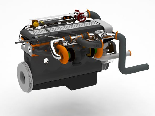 Engine - 3DOcean Item for Sale