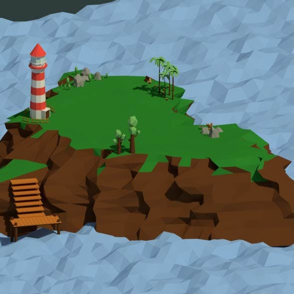 Low Poly Island Pack