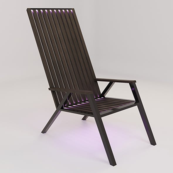 Chair (wood and metal)