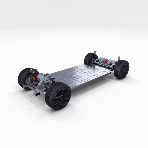 Tesla Cybertruck Chassis