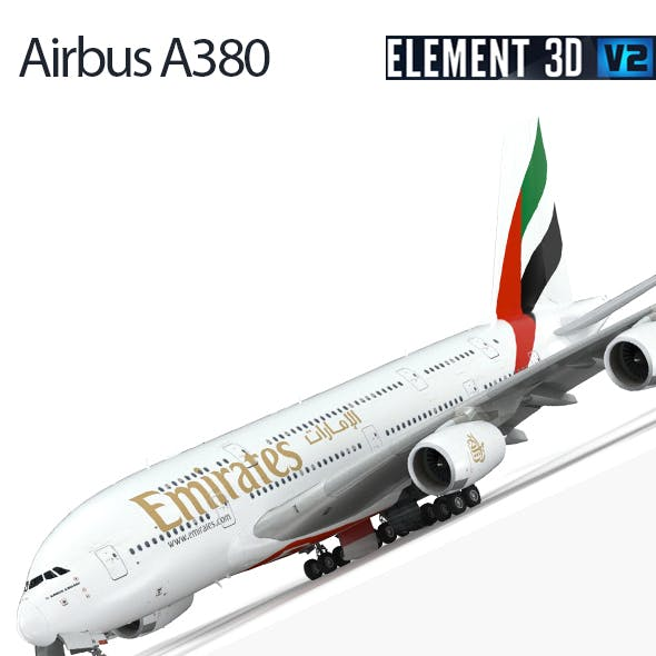 Airbus A380 - Fly Emirates