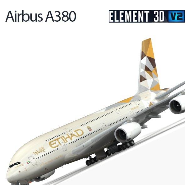 Airbus A-380 Etihad