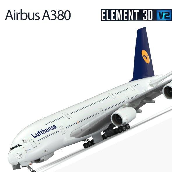 Airbus A-380 Lufthansa