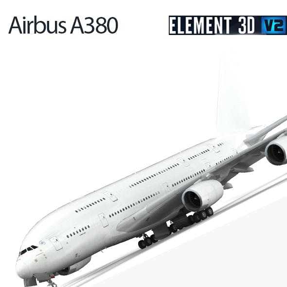Airbus A380 - White paint
