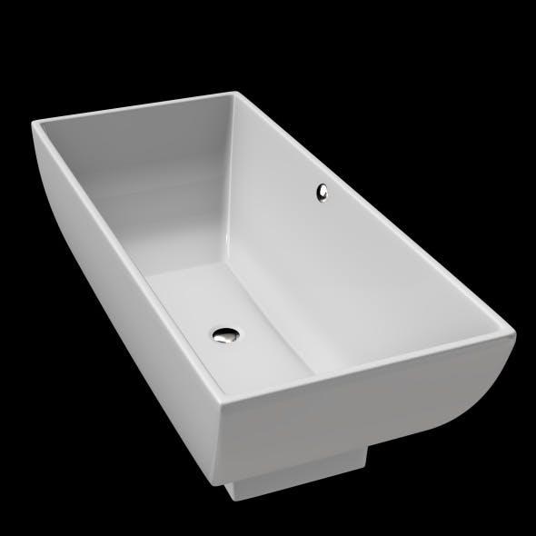 Freestanding, Modern Bath, Tub, Bathtub_No_25