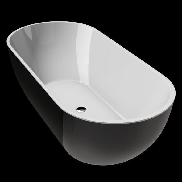 Freestanding, Two colour Modern Bath, Tub, Bathtub_No_30