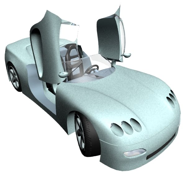 Roofless Car - 3DOcean Item for Sale