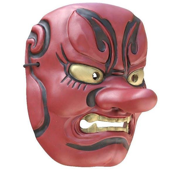 Japanese Mask Tengu Gigaku