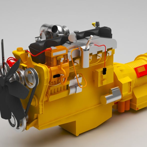 Caterpillar-3406C engine