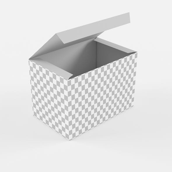 33_Low Poly Product box