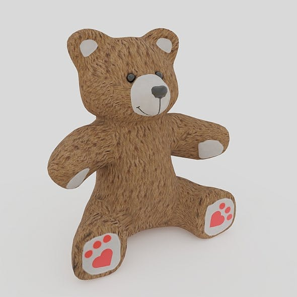 Toy Bear - 3DOcean Item for Sale