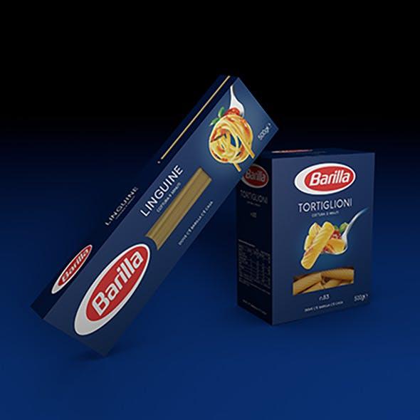 Linguine Barilla pack - 3DOcean Item for Sale