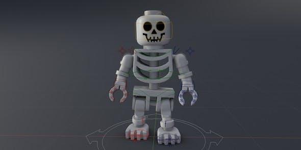 LEGO Skeleton - 3DOcean Item for Sale