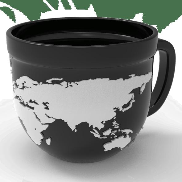 Mug World Map