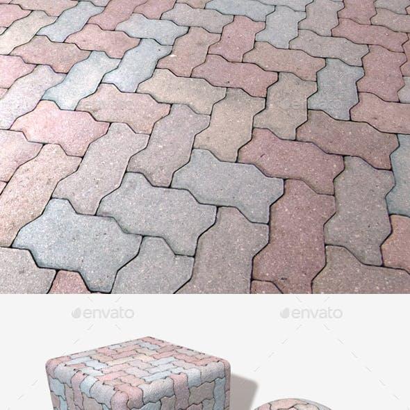 Zigzag Pavement Seamless Texture