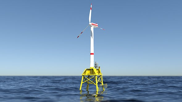 Wind Turbine Generation - 3DOcean Item for Sale