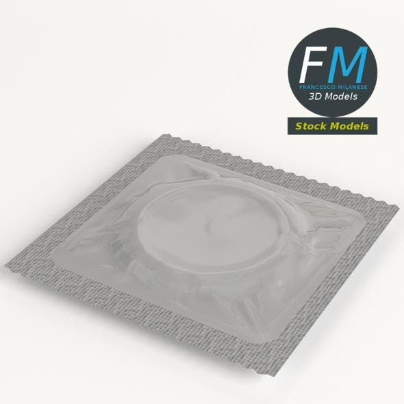 Condom wrapped - 3DOcean Item for Sale