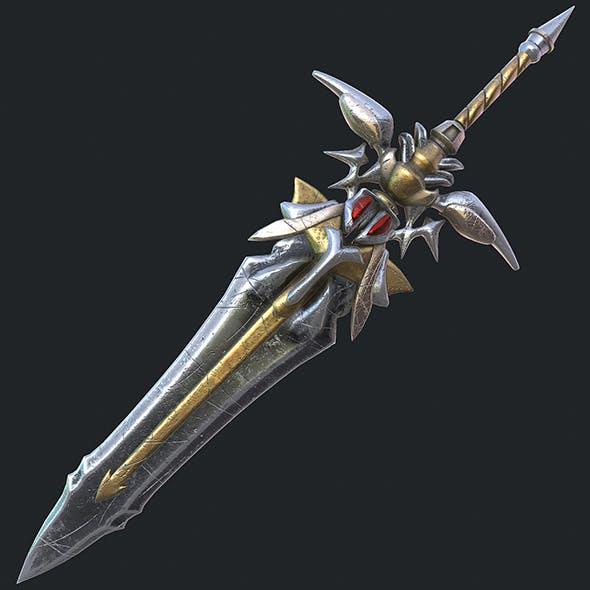 Fantasy sword 19 3d model - 3DOcean Item for Sale