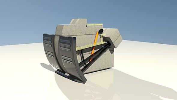 Dam Part v1 - 3DOcean Item for Sale