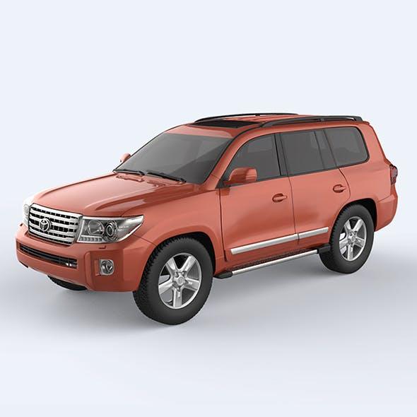 Toyota Land Cruiser - 2015