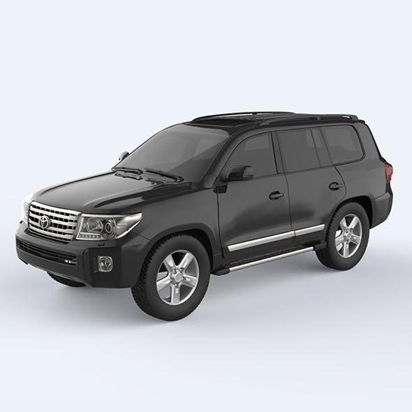 Toyota Land Cruiser - 2015 - 3DOcean Item for Sale