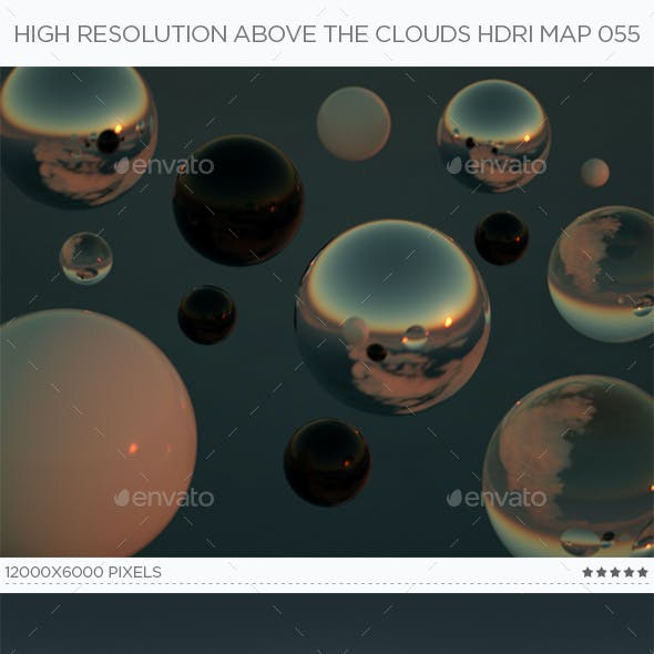 High Resolution Above The Clouds HDRi Map 055