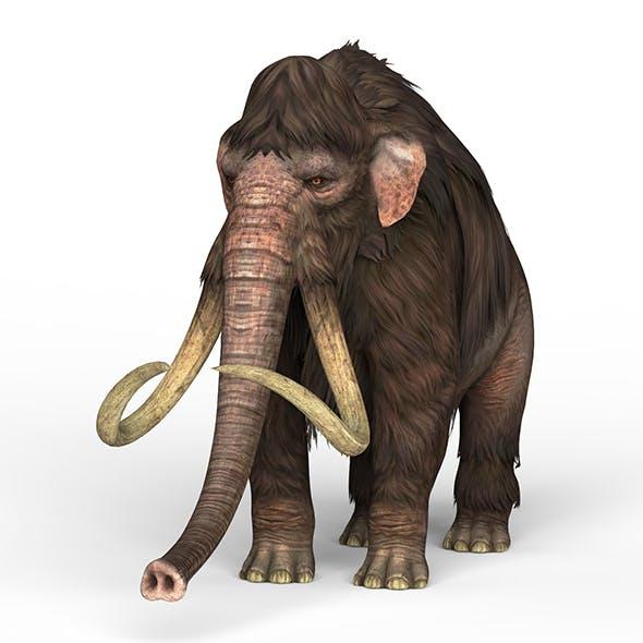 Mammoth Elephant - 3DOcean Item for Sale