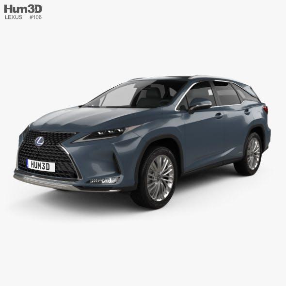 Lexus RX L hybrid 2019