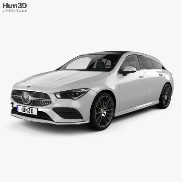 Mercedes-Benz CLA-class Shooting Brake AMG-Line 2019