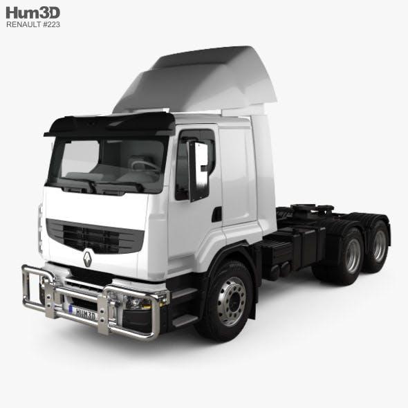 Renault Premium Lander Tractor Truck 3-axle 2006 - 3DOcean Item for Sale
