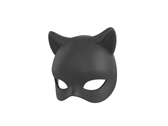 Cat Mask - 3DOcean Item for Sale