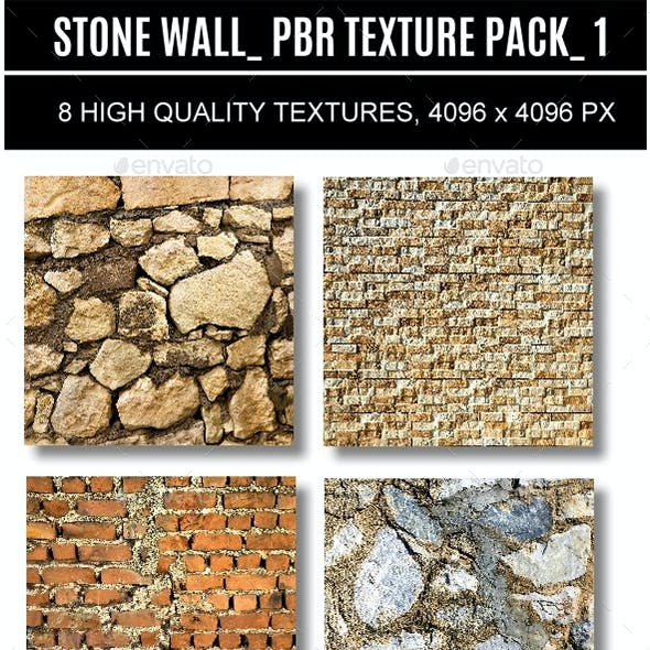 PBR STONE WALL PACK 1.