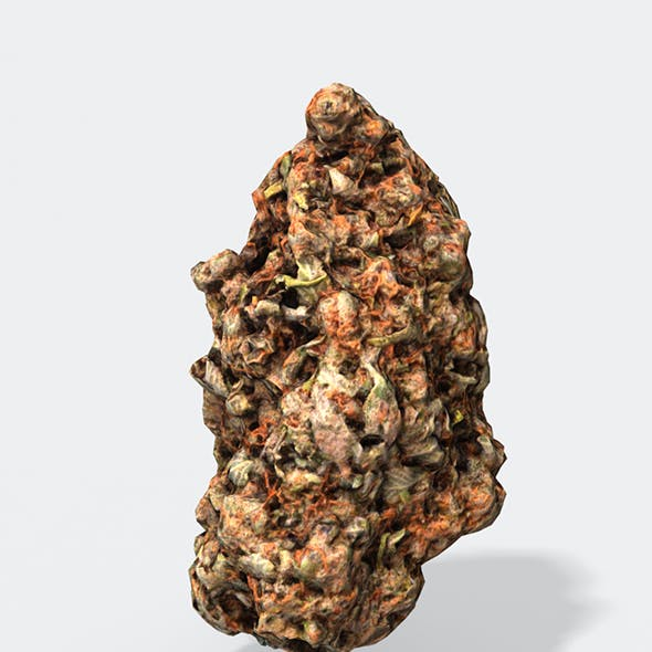 Marijuana Bud 2 - Photoscanned PBR