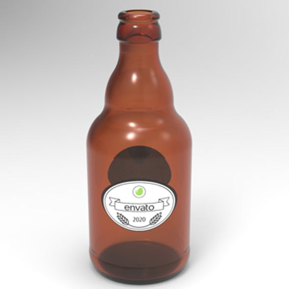 Steinie Beer Bottle