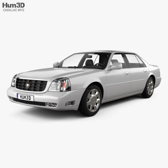 Cadillac DeVille DTS 2000 - 3DOcean Item for Sale