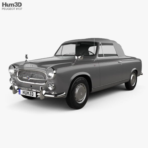 Peugeot 403 convertible 1959