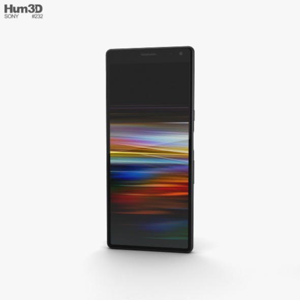 Sony Xperia 10 Black - 3DOcean Item for Sale