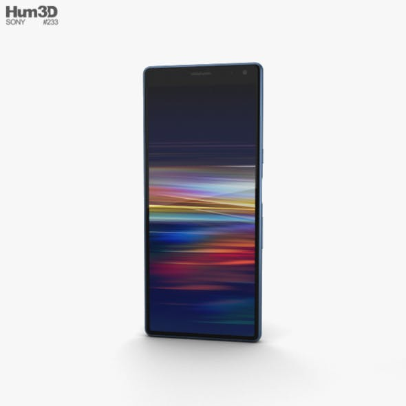 Sony Xperia 10 Navy - 3DOcean Item for Sale