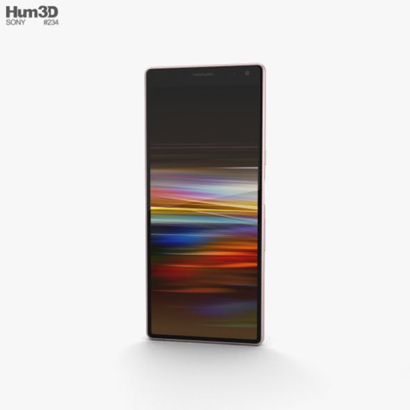 Sony Xperia 10 Pink - 3DOcean Item for Sale