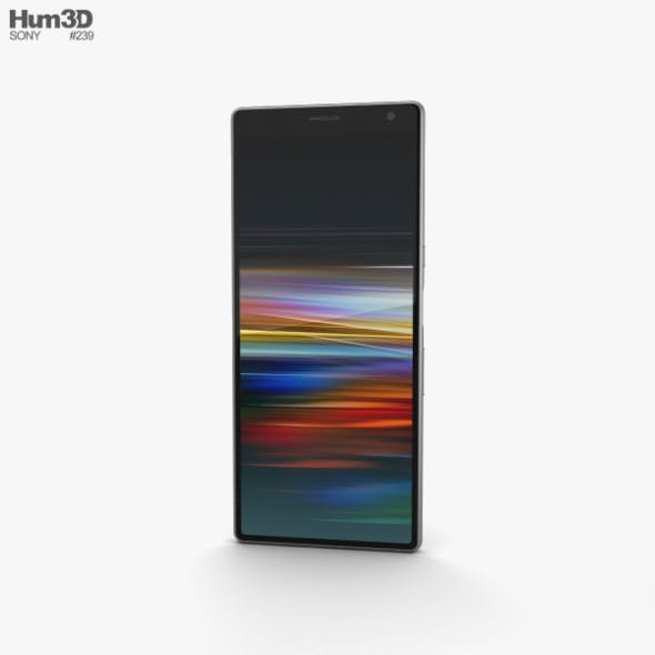 Sony Xperia 10 Plus Silver - 3DOcean Item for Sale