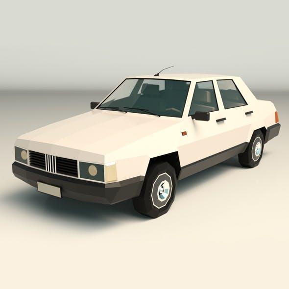 Low Poly Sedan Car 07 - 3DOcean Item for Sale