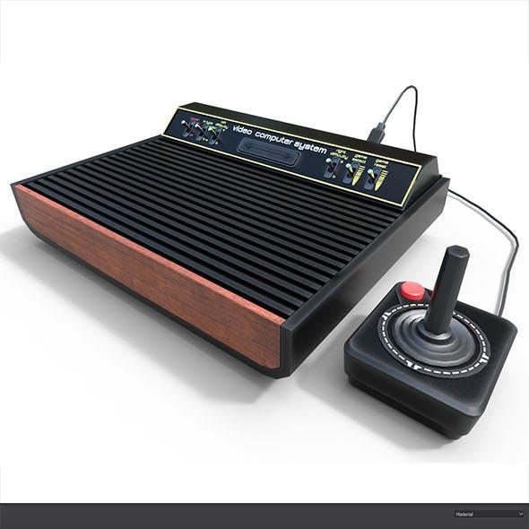 Atari -2600- Low-poly