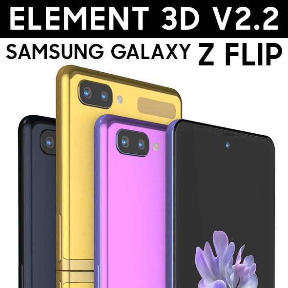 Element3D - Galaxy Z Flip